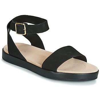 Schuhe Damen Sandalen / Sandaletten Clarks BOTANIC IVY Schwarz