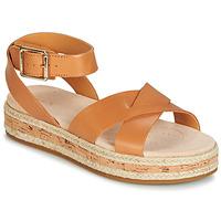Schuhe Damen Sandalen / Sandaletten Clarks BOTANIC POPPY Braun