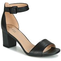 Schuhe Damen Sandalen / Sandaletten Clarks DEVA MAE Schwarz