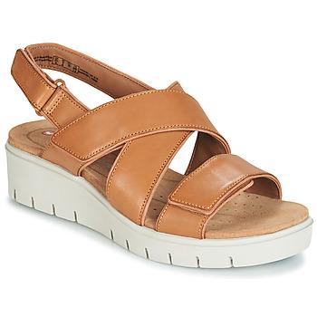 Schuhe Damen Sandalen / Sandaletten Clarks UN KARELY DEW Braun