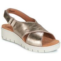 Schuhe Damen Sandalen / Sandaletten Clarks UN KARELY SUN Gold