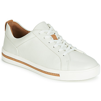 Schuhe Damen Sneaker Low Clarks UN MAUI LACE Weiss