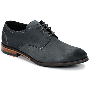 Schuhe Herren Derby-Schuhe Clarks FLOW PLAIN Grau