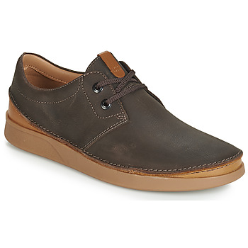 Schuhe Herren Derby-Schuhe Clarks Oakland Lace Braun