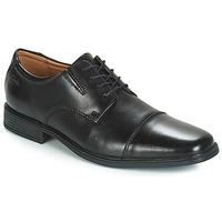 Schuhe Herren Derby-Schuhe Clarks Tilden Cap Schwarz