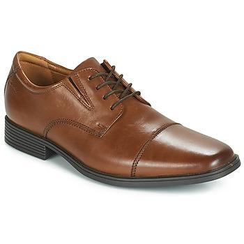 Schuhe Herren Derby-Schuhe Clarks Tilden Cap Braun