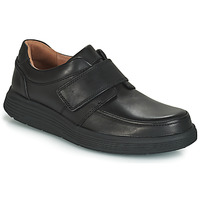 Schuhe Herren Derby-Schuhe Clarks UN ABODE STRAP Schwarz