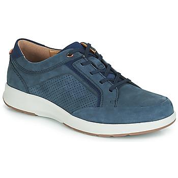 Schuhe Herren Sneaker Low Clarks UN TRAIL FORM Marine