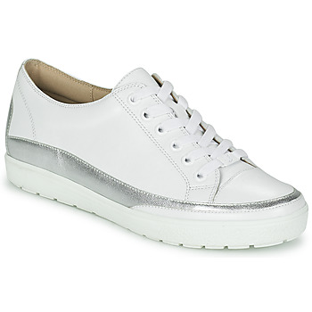 Schuhe Damen Sneaker Low Caprice BUSCETI Weiss / Silbern