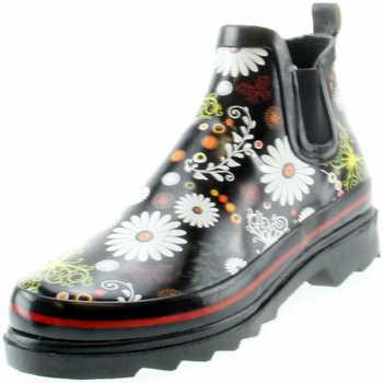 Schuhe Damen Gummistiefel Beck Gummistiefel Daisy 809 Schwarz