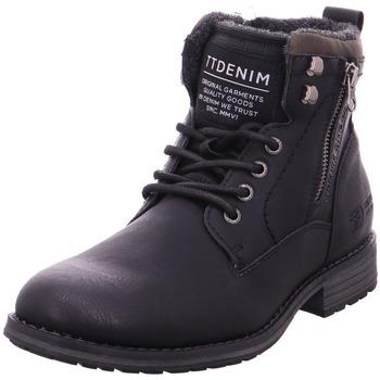 Schuhe Herren Wanderschuhe Pep Step - 5885103 schwarz