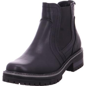 Schuhe Damen Boots Stiefelette Woms Boots BLACK