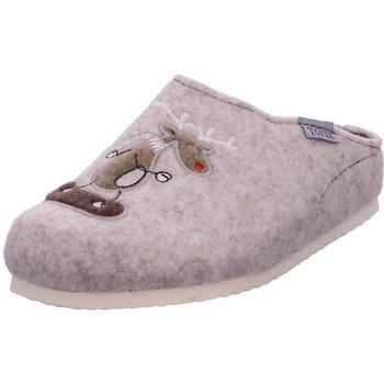Schuhe Damen Hausschuhe Tofee - 1113/EUR3048 beige