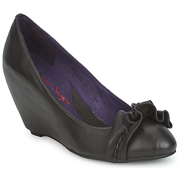 Schuhe Damen Pumps Couleur Pourpre BRIGITTE Grau