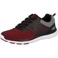 Schuhe Damen Sneaker Low Brütting Skill rot