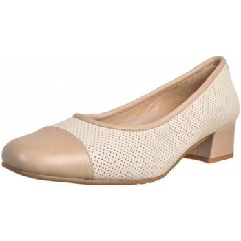 Schuhe Damen Pumps Argenta 21607 Beige