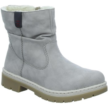 Schuhe Damen Schneestiefel Rieker Stiefeletten cloud/grigio Y9462-41 grau