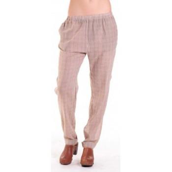 Kleidung Damen Fließende Hosen/ Haremshosen American Vintage PANTALON ABI178 MIEL/SABLE Beige