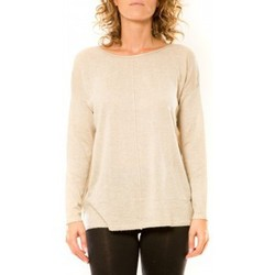 Kleidung Damen Pullover Vision De Reve Vision de Rêve Pull 12006 Écru Beige