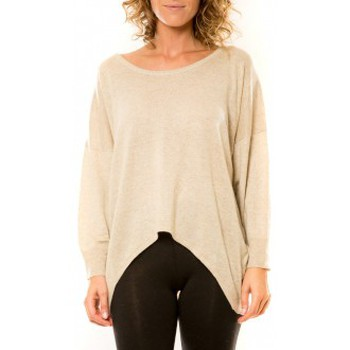Kleidung Damen Pullover Vision De Reve Vision de Rêve Pull 12011 Beige Beige