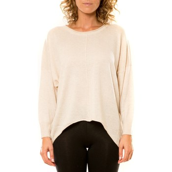 Kleidung Damen Pullover Vision De Reve Vision de Rêve Pull 12021 Écru Beige