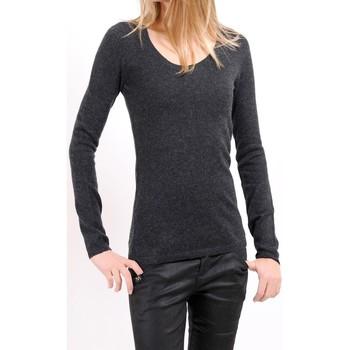 Kleidung Damen Pullover American Vintage PULL CIN235H10 ANTHRACITE Grau