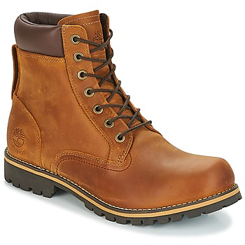 Schuhe Herren Boots Timberland EK RUGGED 6 IN PLAIN TOE BOOT Braun