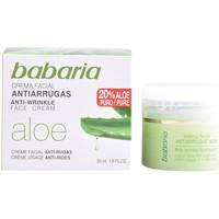 Beauty Damen Anti-Aging & Anti-Falten Produkte Babaria Aloe Vera Crema Antiarrugas  50 ml