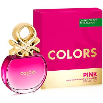 Beauty Damen Eau de toilette  Benetton Colors Pink Edt Zerstäuber  50 ml