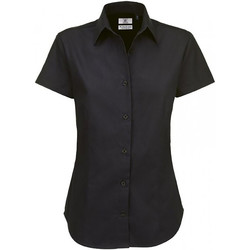 Kleidung Damen Hemden B And C SWT84 Schwarz