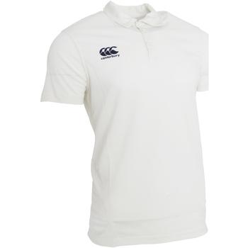 Kleidung Herren Polohemden Canterbury CN155 Creme