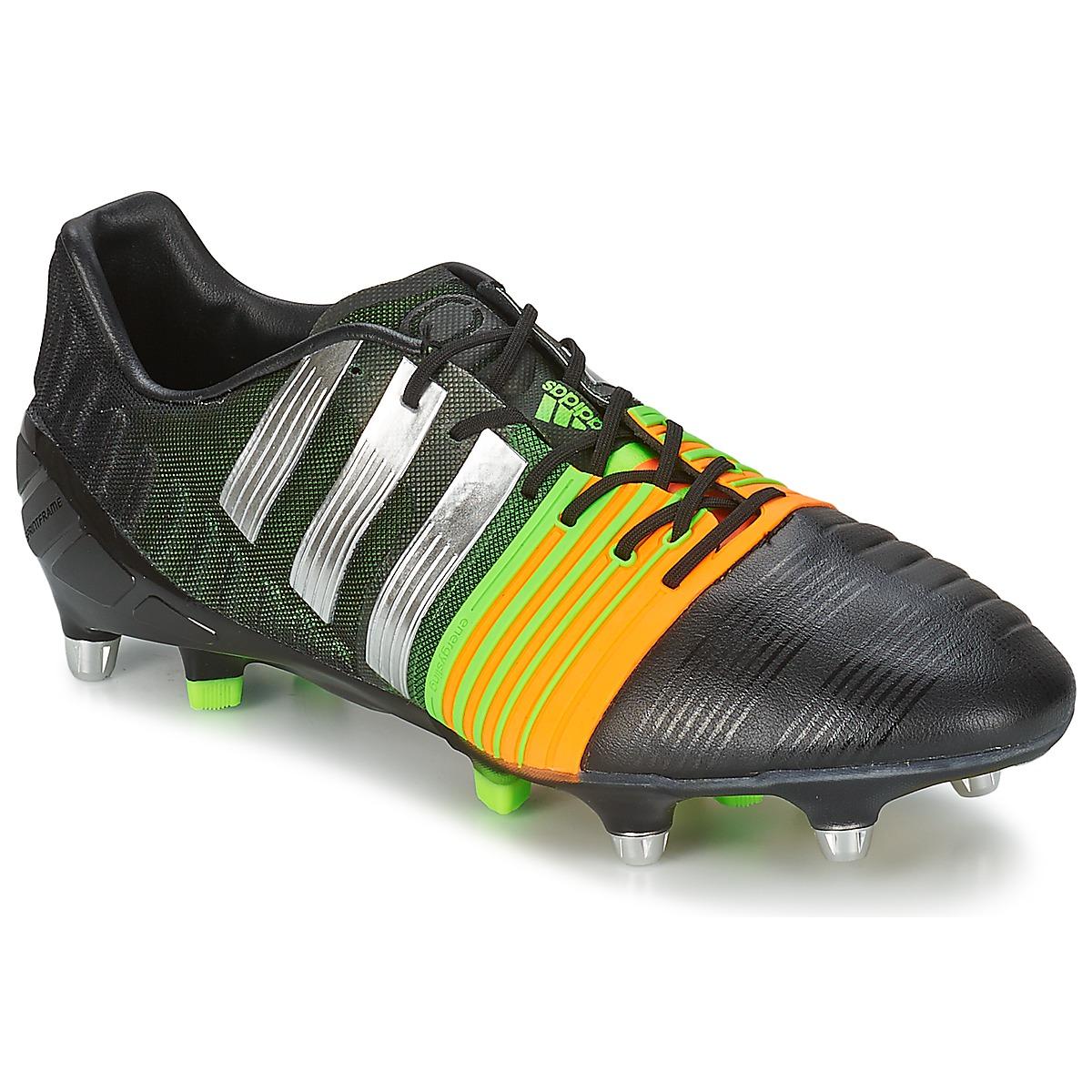adidas Performance NITROCHARGE 10 SG Schwarz / Gelb - Kostenloser Versand bei Spartoode ! - Schuhe Fussballschuhe Herren 104,50 €