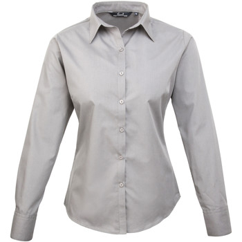 Kleidung Damen Hemden Premier PR300 Silber