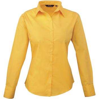 Kleidung Damen Hemden Premier PR300 Sonnenblumengelb