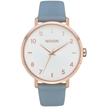 Uhren Analoguhren Nixon RELOJ  ARROW LEATHER ROSE Gold