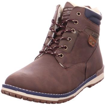 Schuhe Herren Stiefel Hengst - 300611 braun