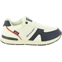 Schuhe Kinder Sneaker Low Dunlop 35323 Blanco