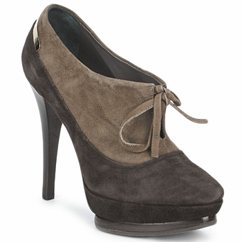 Schuhe Damen Ankle Boots Alberto Gozzi CAMOSCIO ARATY Braun