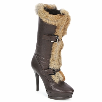 Schuhe Damen Low Boots Alberto Gozzi BOTERO GRATO Braun