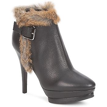 Schuhe Damen Low Boots Alberto Gozzi BOTERO GADRO Schwarz