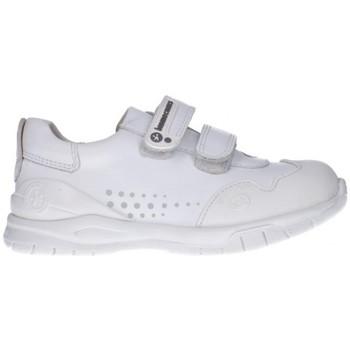 Schuhe Mädchen Sneaker Low Biomecanics 182195 Niña Blanco blanc