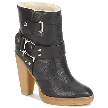 Schuhe Damen Low Boots Belle by Sigerson Morrison ZUMA Schwarz