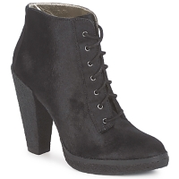 Schuhe Damen Low Boots Belle by Sigerson Morrison HAIRCALF Schwarz