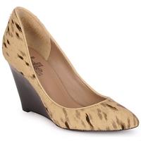 Schuhe Damen Pumps Belle by Sigerson Morrison HAIRMIL Beige / Schwarz
