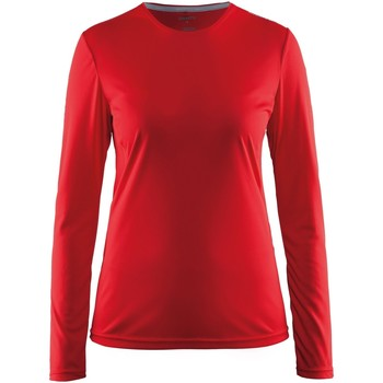 Kleidung Damen Langarmshirts Craft CT89F Rot