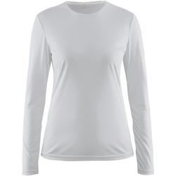 Kleidung Damen Langarmshirts Craft CT89F Weiß