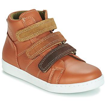 Schuhe Jungen Boots André TRITON Camel