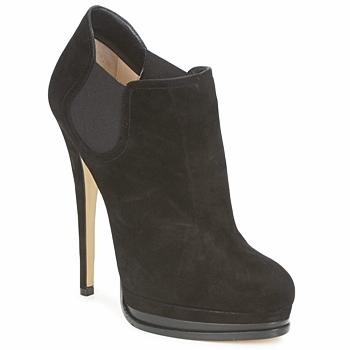 Schuhe Damen Ankle Boots Casadei 8532G157 Schwarz