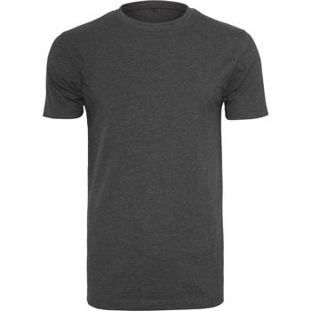 Kleidung Herren T-Shirts Build Your Brand BY004 Anthrazit