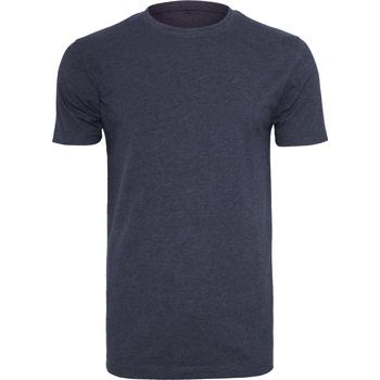 Kleidung Herren T-Shirts Build Your Brand BY004 Marineblau
